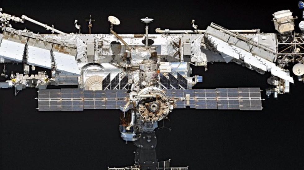 Detectan fuga de aire en el módulo ruso Zvezda de la Estación Espacial Internacional - Foto de @roscosmos