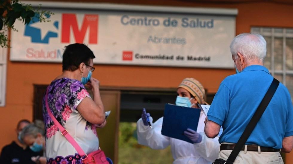 España aprueba estado de alarma para Madrid por COVID-19 - Foto de EFE