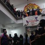 Ocupación feminista de la CNDH cumple 14 días con fisuras