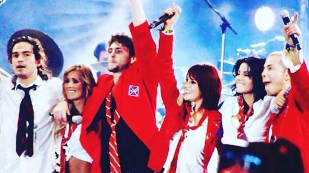 RBD anuncia 'Ser o parecer', su primer concierto en 12 años - RBD durante concierto. Foto de @anahi