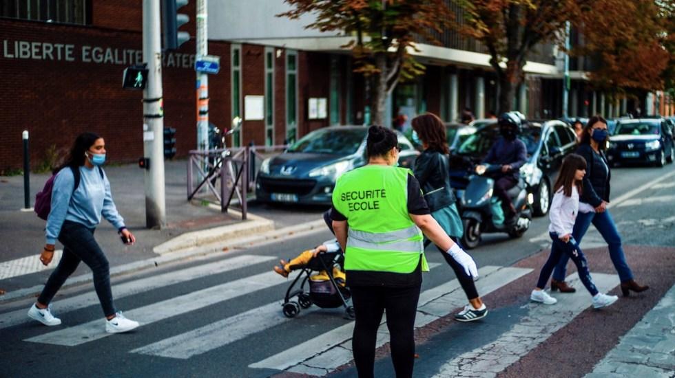 Francia suma más de 7 mil casos de COVID-19 en 24 horas; continúa incremento de contagios - Foto de EFE
