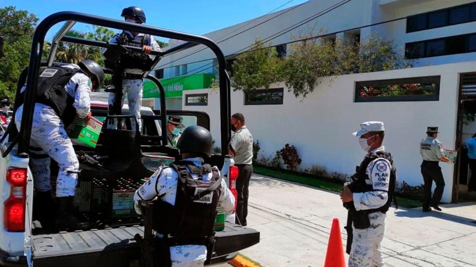 Investigan en Jalisco a elementos de la Guardia Nacional por asesinato de joven - Elementos de la Guardia Nacional. Foto @GN_MEXICO_