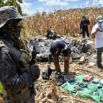 Identifican a narcotraficante muerto en aeronave robada en Morelos y accidentada en Guatemala