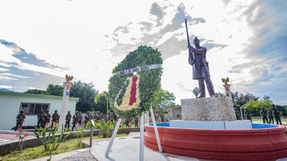 """""""El 13 de septiembre es doblemente importante para Guerrero"""", resalta Astudillo en conmemoración de Batalla de Chapultepec - Guerrero Niños Héroes conmemoración Batalla"""
