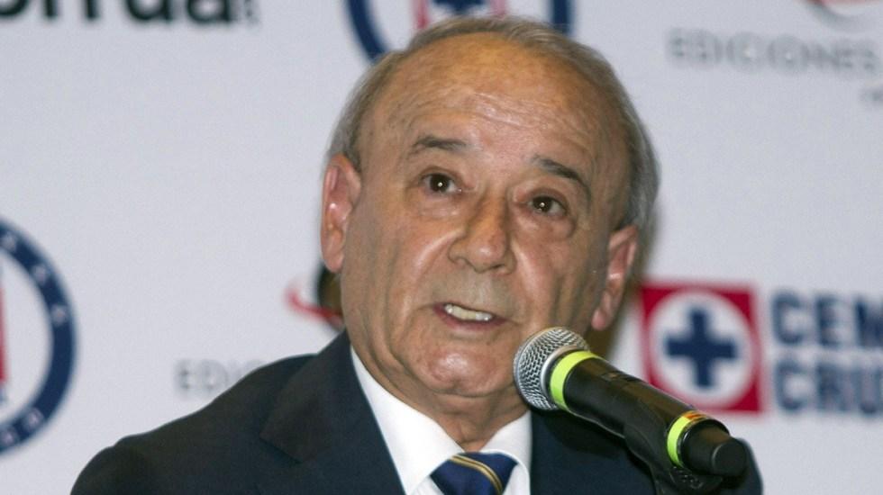 Niegan suspensión definitiva a Billy Álvarez contra orden de aprehensión - Guillermo 'Billy' Álvarez. Foto de Notimex / Archivo