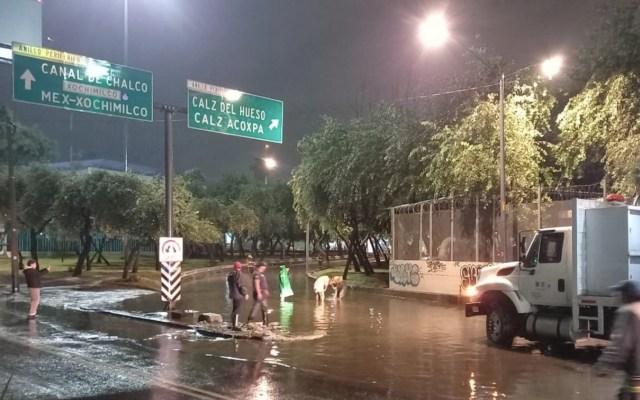 Lluvias de los últimos dos días en la Ciudad de México, de las más intensas en 20 años; al menos 102 encharcamientos - Foto de Twitter @SacmexCDMX