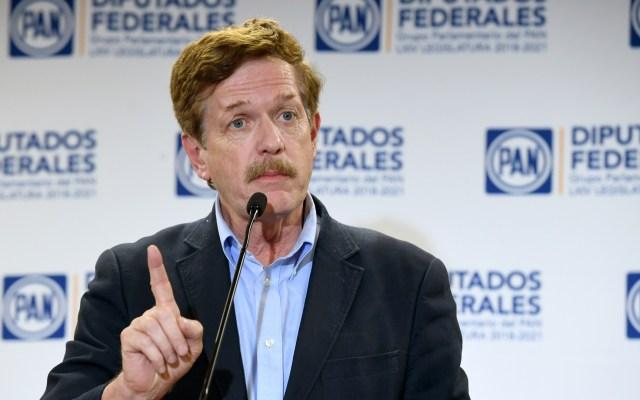 PAN llama al Gobierno Federal a 'curarse del virus del odio' y recuperar confianza de los mexicanos - Juan Carlos Romero Hicks. Foto del PAN