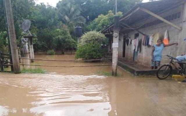 Remanentes de Nana provocan fuertes lluvias en Tabasco, Veracruz y Oaxaca; Puerto Ángel está cerrado a la navegación - Foto de Protección Civil Oaxaca