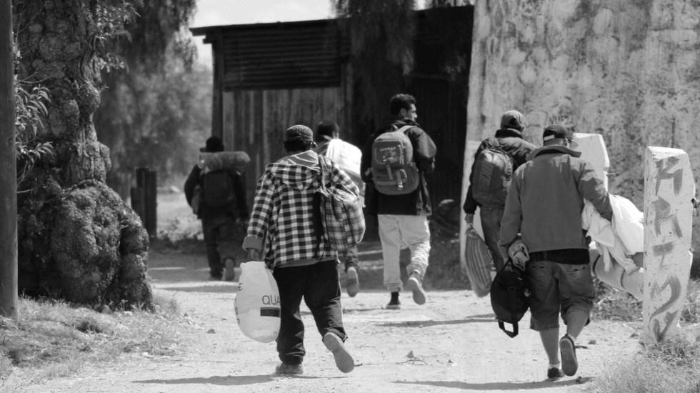 México dice que migrantes que estén de paso por el país serán vacunados - Migrantes en Hidalgo. Foto de Casa del Migrante El Samaritano