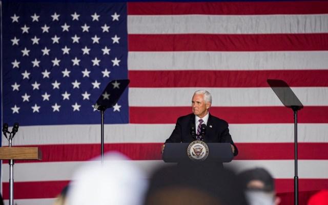 Aterriza de emergencia en New Hampshire avión del vicepresidente de EE.UU, Mike Pence - El Vicepresidente de los Estados Unidos, Mike Pence. Foto Twitter Mike Pence