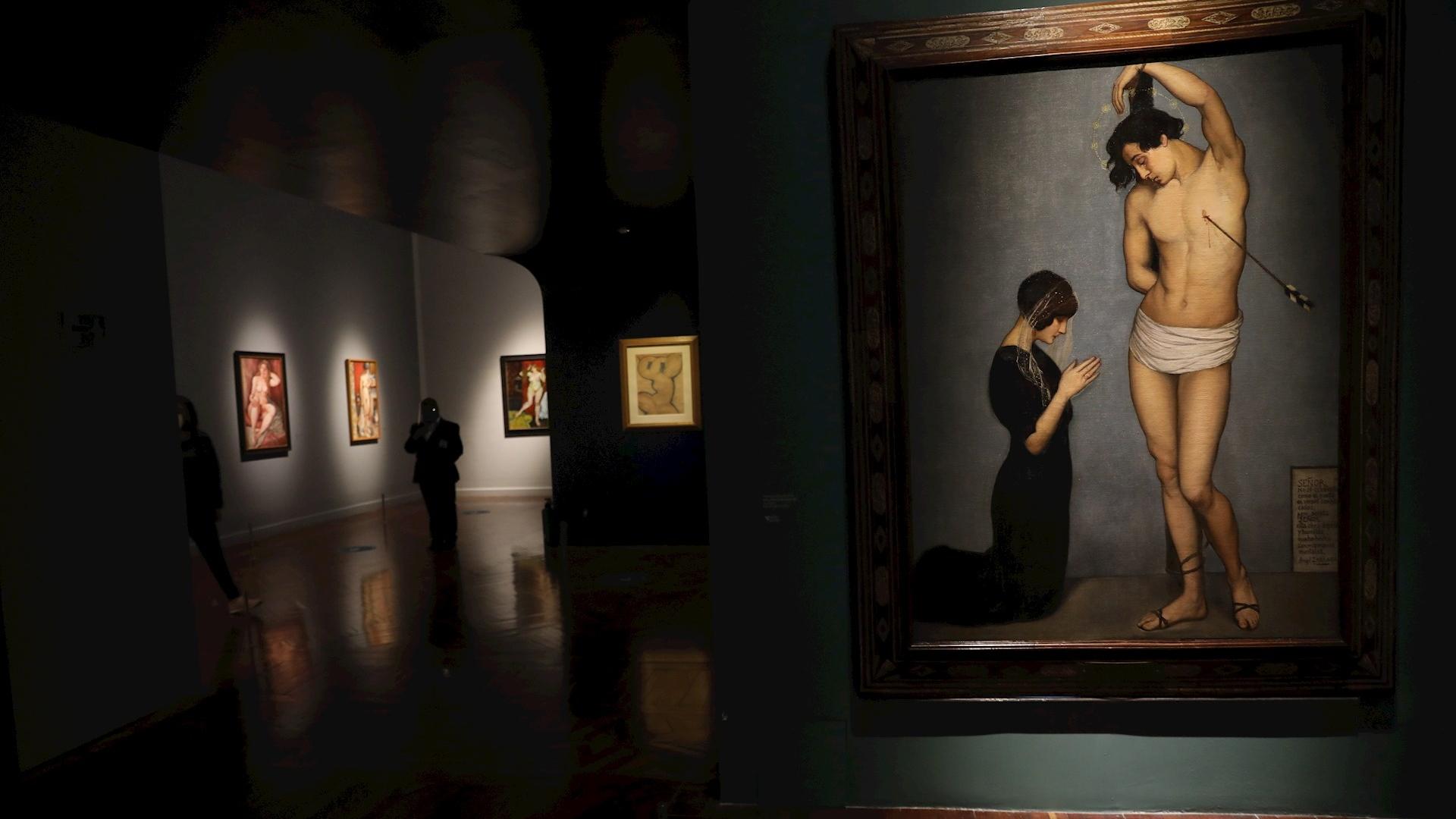 Muestra Modigliani Bellas Artes exposición 2
