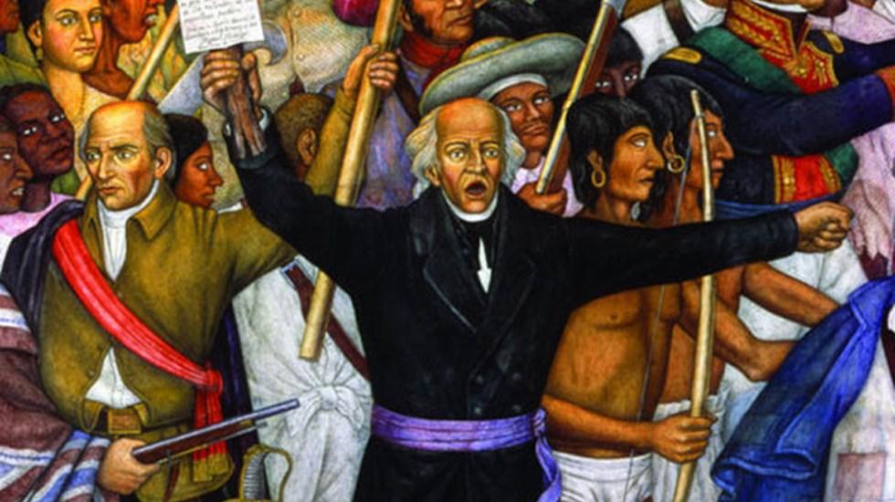 #Video La música que se oía en tiempos de Miguel Hidalgo y Costilla - Miguel Hidalgo y Costilla en mural del pintor mexicano Juan O'Gorman