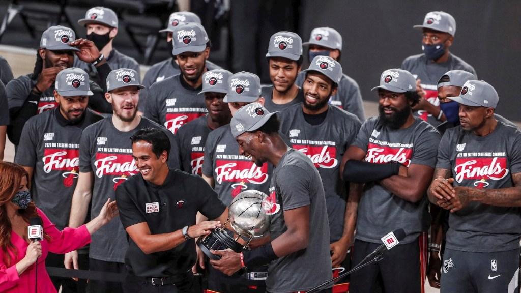 Miami Heat enfrentará a Los Ángeles Lakers en Finales de la NBA - NBA Miami Heat campeón Este