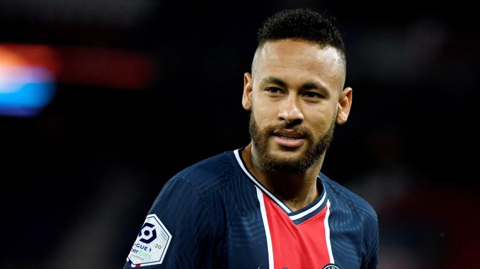 Suspenden a Neymar por tres partidos tras pleito con Álvaro González - Neymar Jr. Foto de EFE