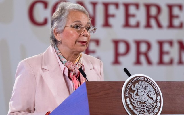 """""""Son claramente ataques misóginos"""": Sánchez Cordero sobre críticas a su gestión en Segob - Foto de lopezobrador.org.mx"""
