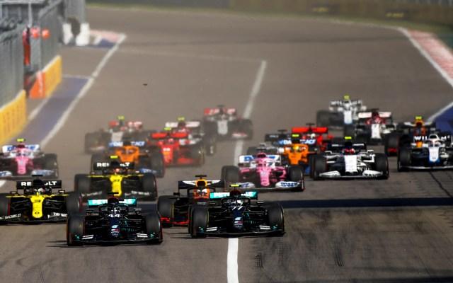 Valtteri Bottas se lleva el GP de Rusia; 'Checo' Pérez finaliza cuarto - Gran Premio de Rusia. Foto de EFE