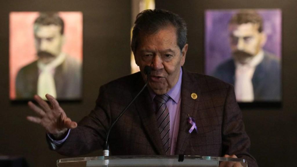 Mario Delgado al frente de Morena impulsará a Ebrard como candidato a la Presidencia, advierte Muñoz Ledo. Noticias en tiempo real