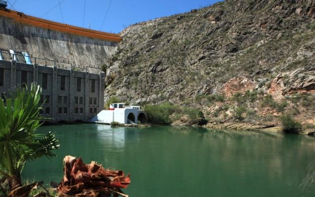 Técnicos de Conagua verifican situación en presa La Boquilla - Presa La Boquilla Chihuahua agua