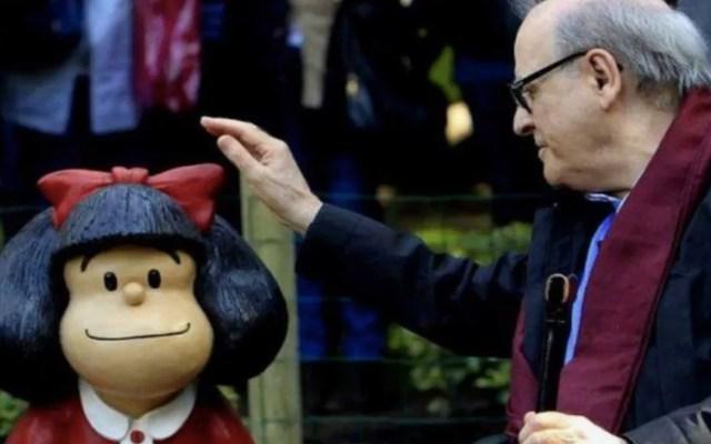 Murió Quino, creador de Mafalda - Foto de Mafalda Digital
