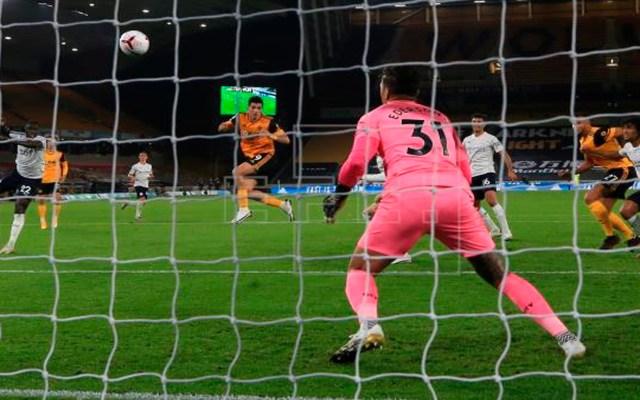 #VIDEO Raúl Jiménez marca ante Manchester City; suma su segundo gol de la temporada - El delantero mexicano Raúl Jiménez. Foto EFE