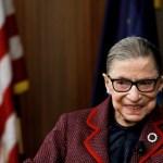 Ginsburg hace historia al recibir el máximo honor póstumo en el Congreso de EE.UU. - Ruth Bader Ginsburg. Foto de EFE/EPA/JUSTIN LANE.