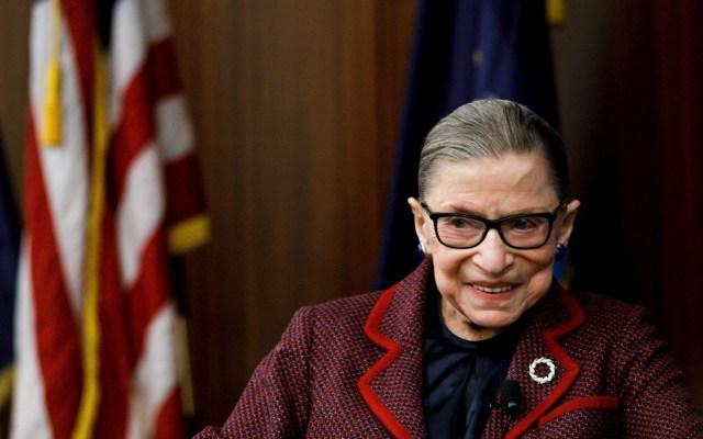 Murió a los 87 años la jueza Ruth Bader Ginsburg - Ruth Bader Ginsburg. Foto de EFE/EPA/JUSTIN LANE.