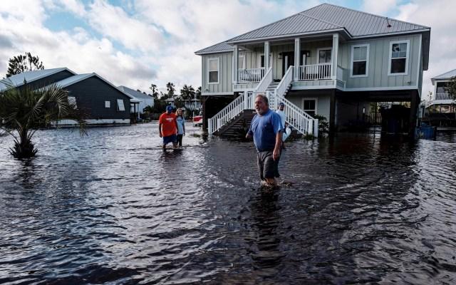 """Sally se debilita a tormenta tropical; provoca """"inundaciones catastróficas"""" en Alabama y Florida - Sally Daños Alabama tormenta 2"""