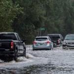 Sally deja un muerto y causa inundaciones en el sudeste de Estados Unidos - Sally Daños Alabama tormenta