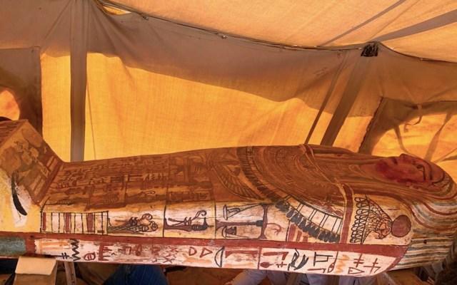 Encuentran 27 sarcófagos en Egipto; estuvieron enterrados 2 mil 500 años - Foto de Ministerio de Turismo y Antigüedades de Egipto