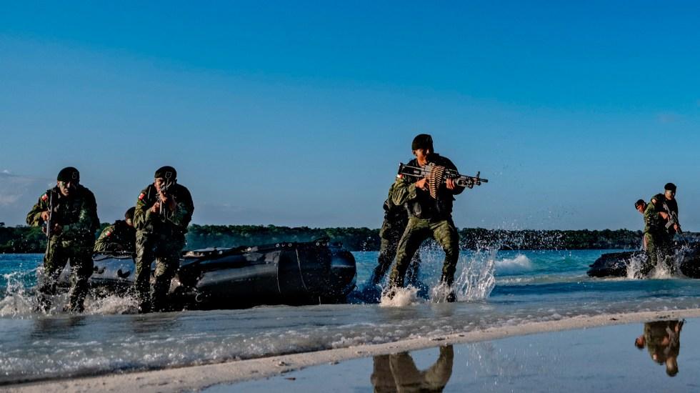 SCJN pospone resolver impugnación contra militarización por pandemia - Efectivos del Ejército mexicano. Foto Twitter @SEDENAmx