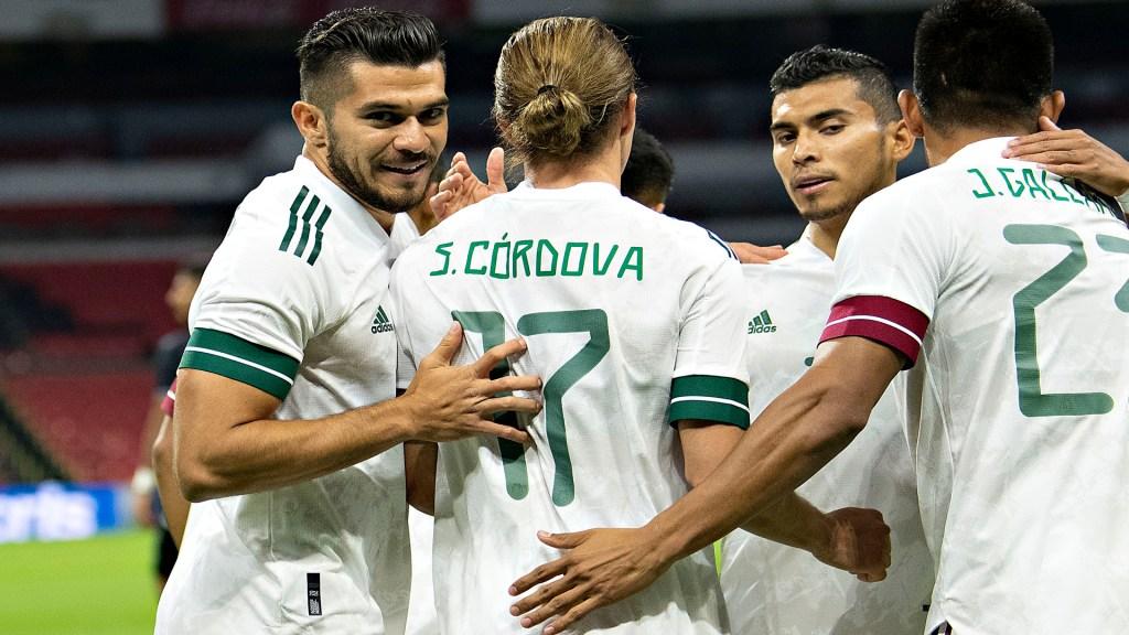 Vence el Tricolor a la selección de Guatemala 3-0 en el Estadio Azteca - Sebastián Córdova anotó su gol. Foto Twitter @miseleccionmx