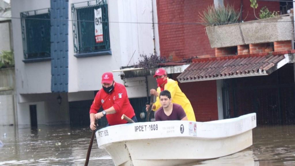 Emiten declaratoria de emergencia por lluvias en Tabasco; hay casi 52 mil afectados - Foto de Protección Civil Tabasco