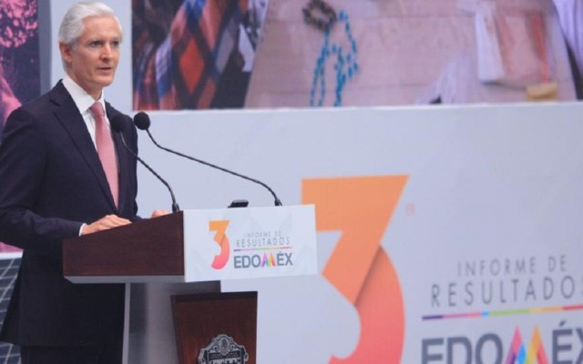 El Edomex no se detiene; hoy es un estado con oportunidades de desarrollo: Del Mazo - Alfredo Del Mazo Maza, gobernador del Estado de México. Foto de Gobierno del Estado de México.