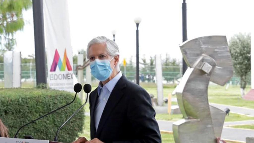 Gobierno de Edomex no se detiene pese a retos, afirma Alfredo del Mazo - Gobernador Alfredo del Mazo. Foto de @AlfredoDelMazoMx