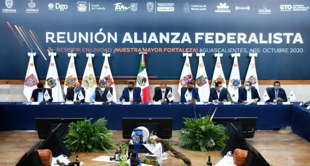 Alianza Federalista celebra que López Obrador acepte invitación al diálogo; solicita reunión a la brevedad - Integrantes de la Alianza Federalista. Foto de @AFederalista