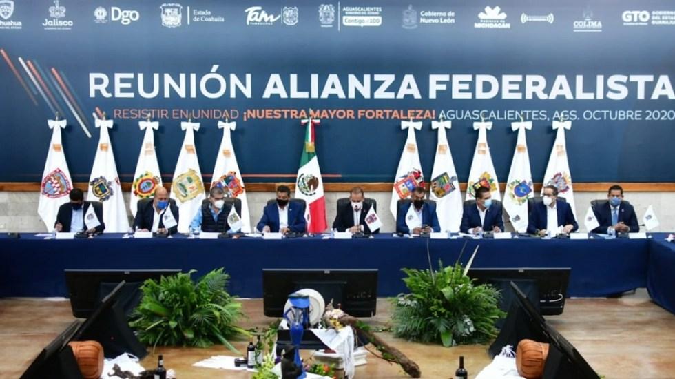 Defender los fideicomisos no es defender la corrupción, responde Alianza Federalista a López Obrador - Integrantes de la Alianza Federalista. Foto de @AFederalista