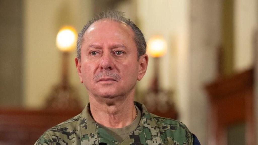 El almirante Rafael Ojeda, secretario de Marina, da positivo a COVID-19 por segunda vez - Almirante José Rafael Ojeda Durán. Foto de Gobierno de México