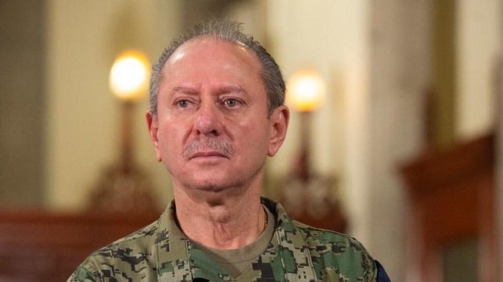"""HRW condena que la Marina considere """"enemigo"""" al Poder Judicial - Almirante José Rafael Ojeda Durán. Foto de Gobierno de México"""