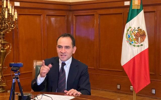 """Rebrote de COVID-19, el mayor riesgo para la economía"", advierte Arturo Herrera - Foto Twitter @ArturoHerrera_G"