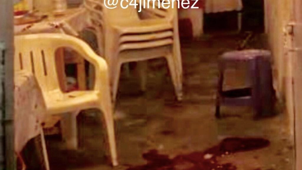 Ataque en 'chelería' de Azcapotzalco deja seis muertos y seis heridos - Foto de Twitter @C4Jimenez