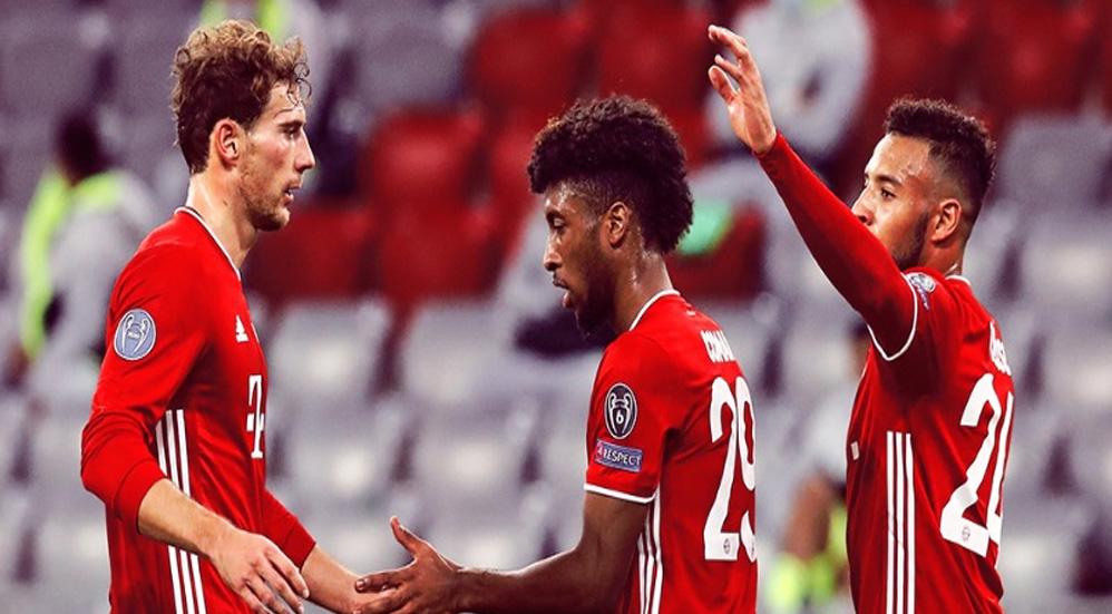 Bayer Munich goleó 4-0 al Atlético de Madrid en la Champions League - Foto Twitter @FCBayernEN