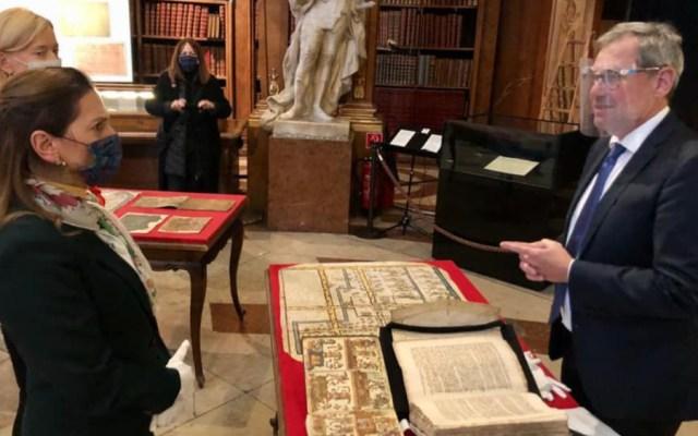 Beatriz Gutiérrez detalla convenio con Austria para acceder a acervo histórico - Foto de Beatriz Gutierrez Müller