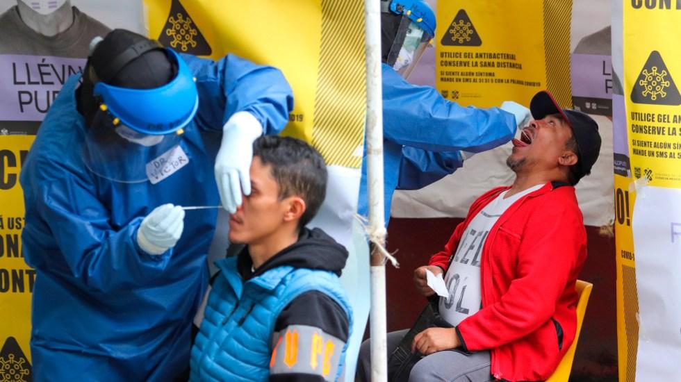 No está descartado el semáforo rojo por COVID-19 en la Ciudad de México, afirma Oliva López Arellano - Foto de EFE