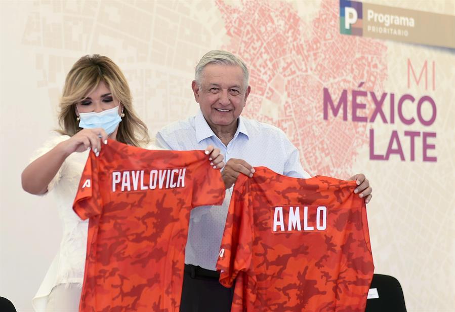 Claudia Pavlovich Presidente López Obrador