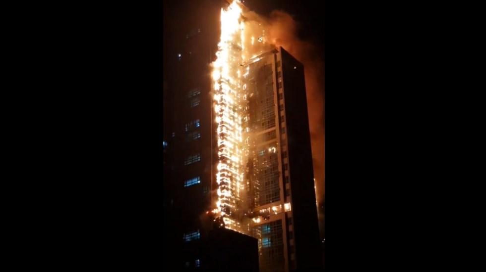 #Video Incendio en edificio de Corea del Sur deja decenas de intoxicados - Corea incendios Mundo