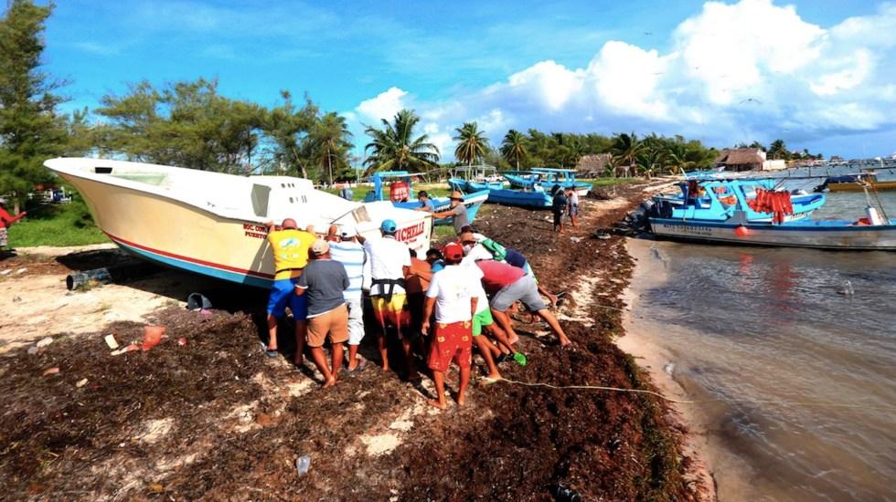 Paso de 'Delta' será peligroso; ingresará el miércoles entre Playa del Carmen y Puerto Morelos: Carlos Joaquín - Foto de EFE