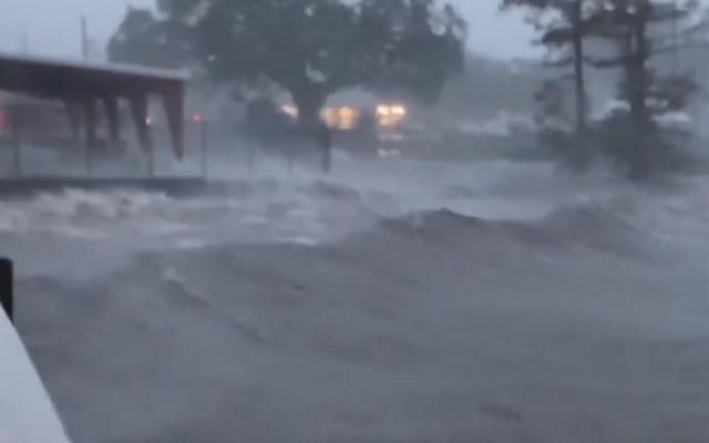 #Video Así impactó el huracán Delta Louisiana; provoca tormentas en varios estados - Delta vientos huracán Louisiana