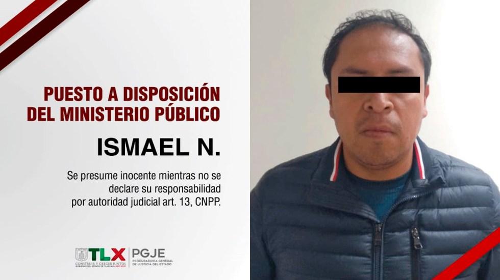 Capturan en Tlaxcala a acusado de matar a su familia para quedarse con herencia - Foto. Procuraduría General de Justicia de Tlaxcala