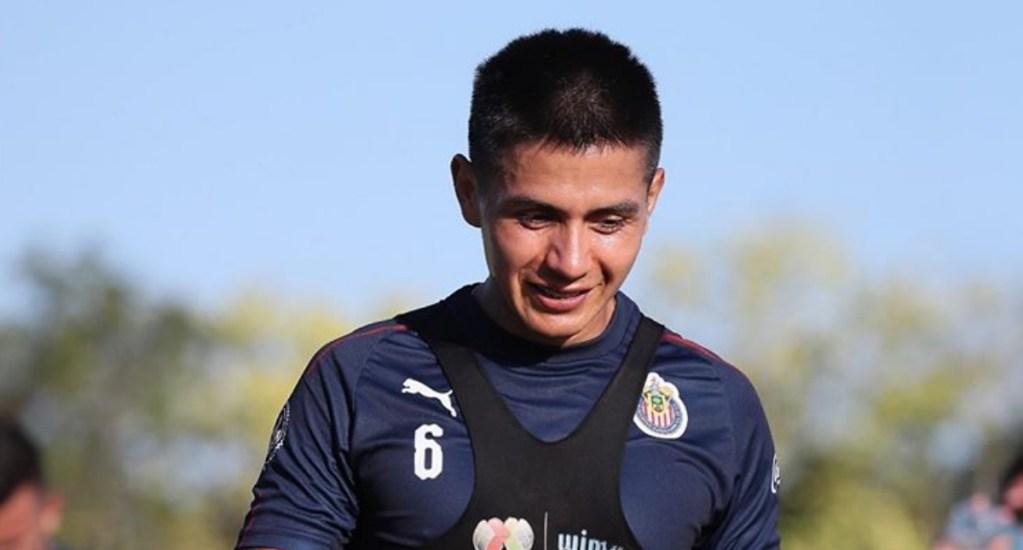 Dieter Villalpando separado de Chivas; informó a directiva que atiende proceso legal - Dieter Villalpando