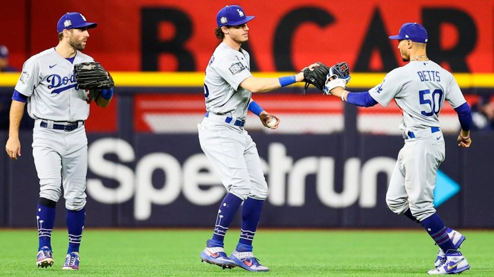Dodgers toman ventaja sobre Rays 2-1 en el Clásico de Otoño; el abridor Walker Buehler ponchó a 10 bateadores - Foto Twitter @LosDodgers